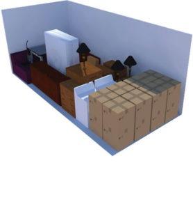 Choice Self Storage - Okotoks - Calgary - High River - Naton - High River Hi Cube Sea Can 8x20
